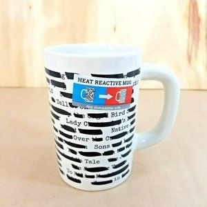 Coffee Mug OUT OF PRINT Banned Books Heat Reactive